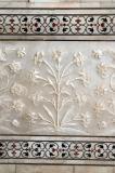 Floral motiv ornamentation
