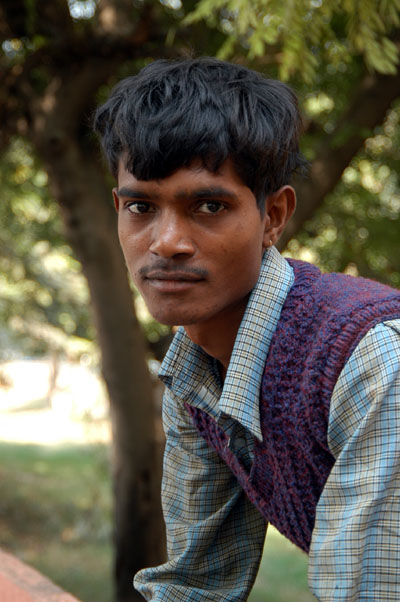 Another Rickshaw driver