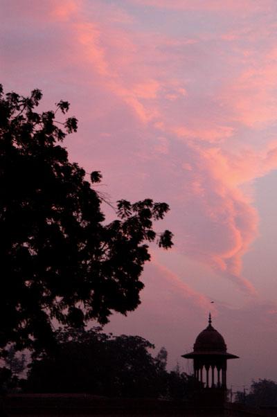 Dawn at the Taj