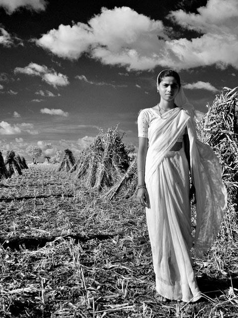 field woman