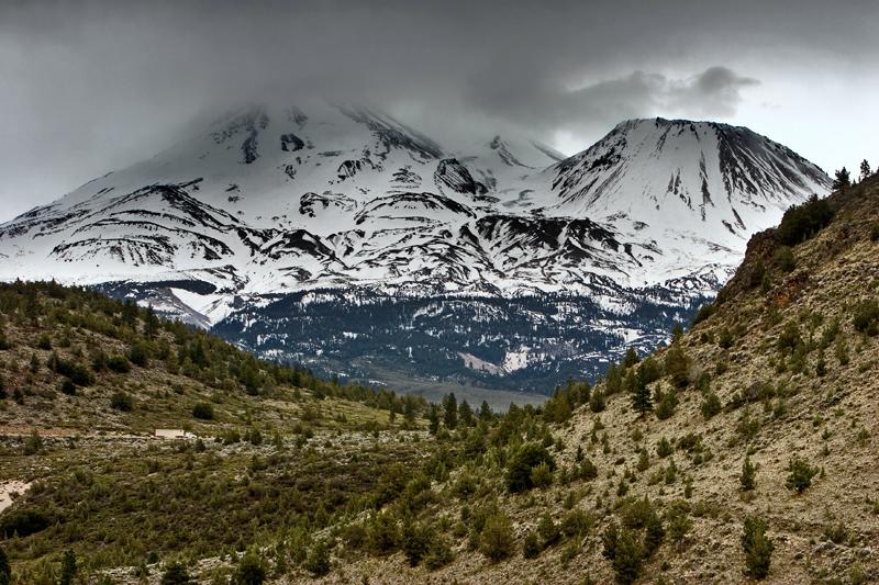 Contrasts - Mount Shasta