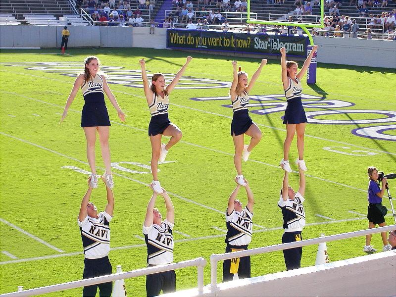 Navy Cheerleaders