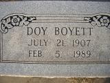 Doy Boyett - Son of George W. Boyett