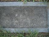 John L. Roberson b. 1901 d. 1931