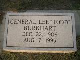 General Lee Todd Burkhart