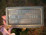 Beulah Alegood b. 1908 d. 1999