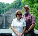 Denise and Fred at the Falls