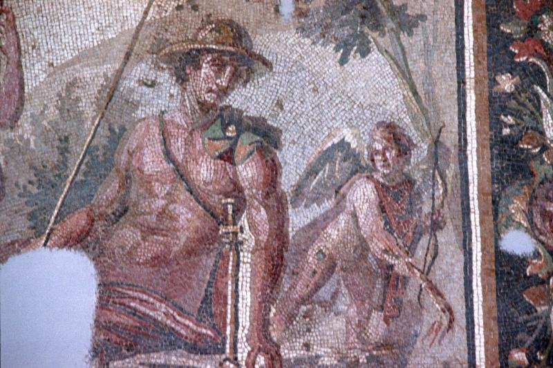 Antakya Mosaic Narcissus and Echo