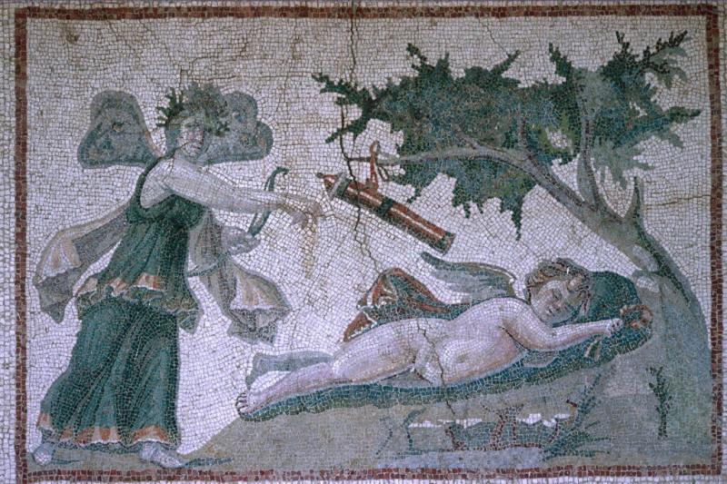 Antakya mosaic Eros and Psyche