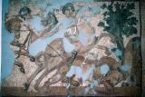 Antakya mosaic Amazones