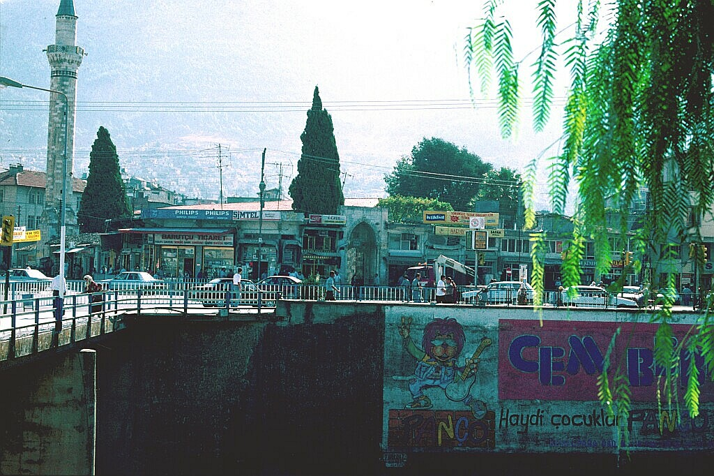 Antakya bridge in centre