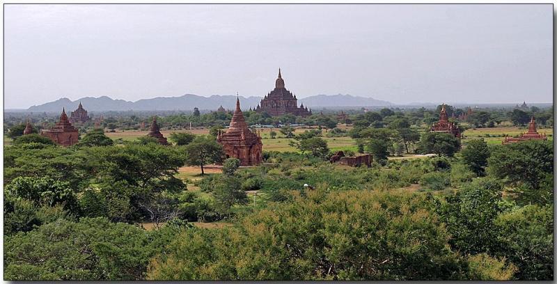 View from That Pyinnyu  - Bagan