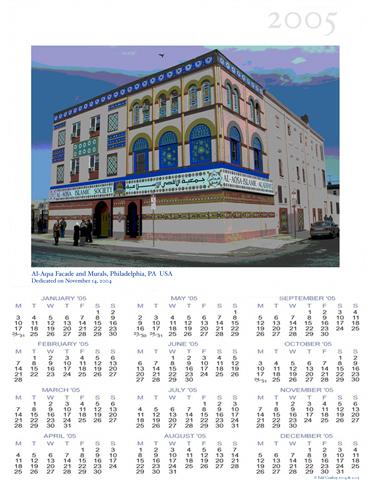 Al-Aqsa Calendar Facade Dedication