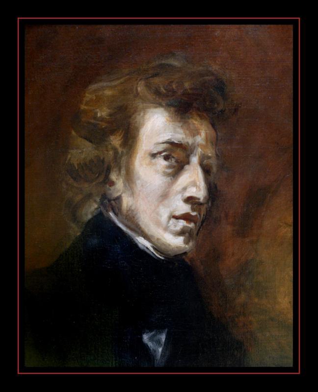 Frédéric Chopin (1838) par Eugène DELACROIX