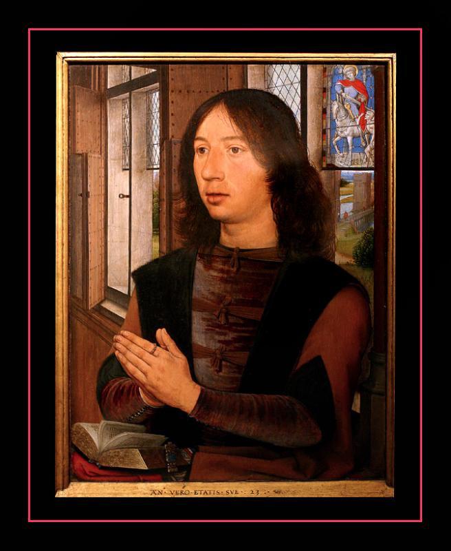 Diptyque de Maarten van Nieuvenhove (1487) par Hans MEMLING