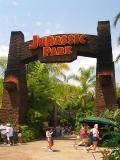 Jurassic Park Entrance