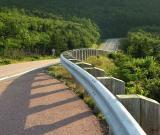 The first guardrail was built in 1952.