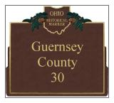 Guernsey County Historical Markers