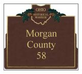 Morgan County Historical Markers