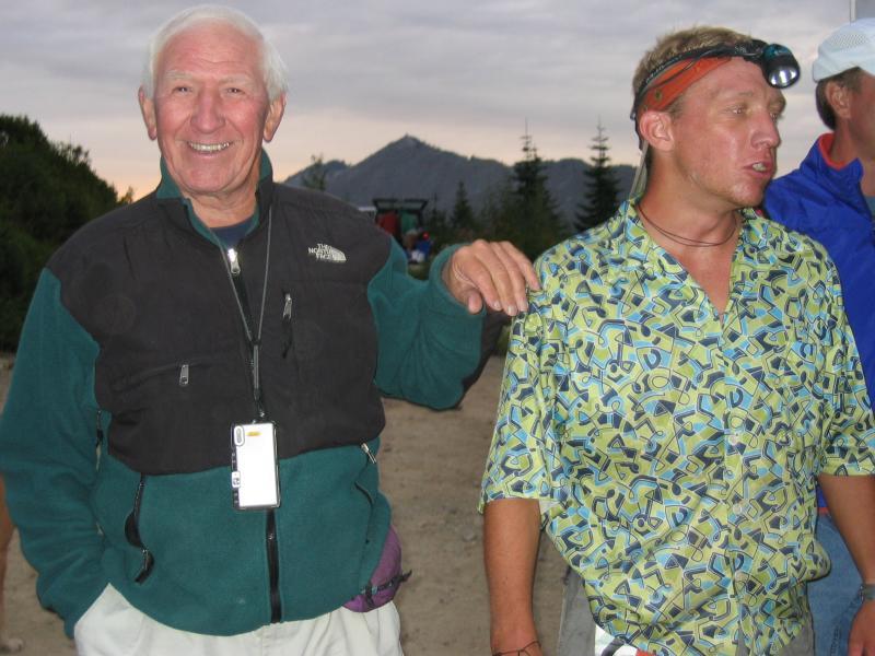 Proud Dad George & Tim Halder