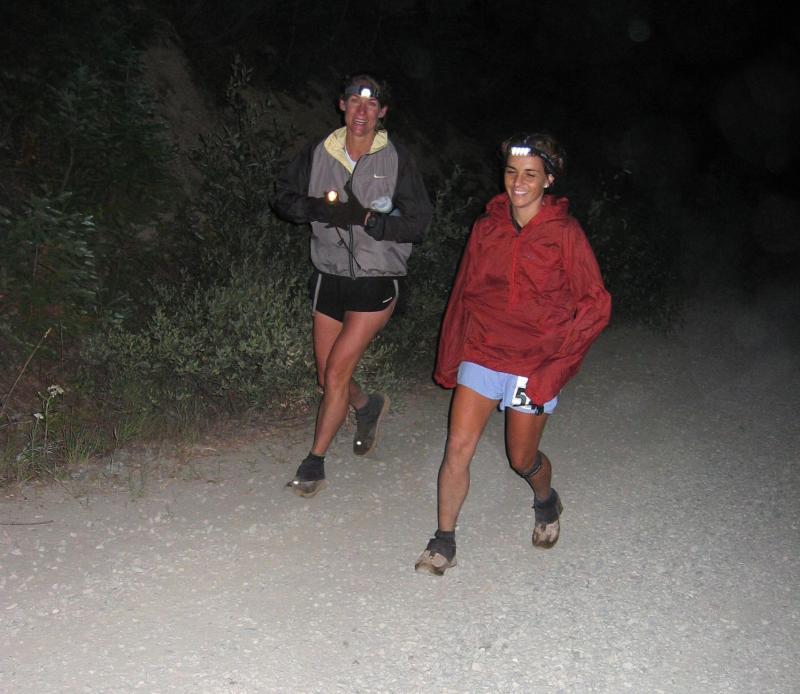 Ronda Sundermeier & pacer Stacey Bunton