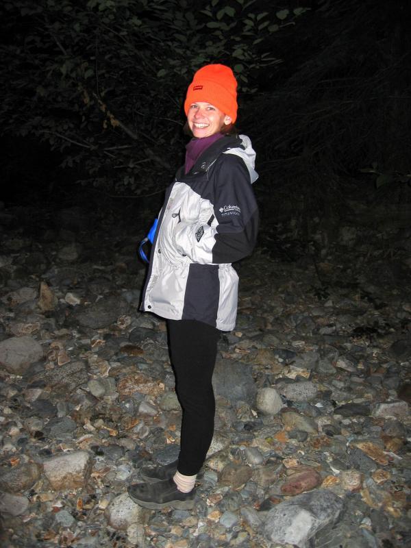 Mineral Creek volunteer - .Terri Rashid