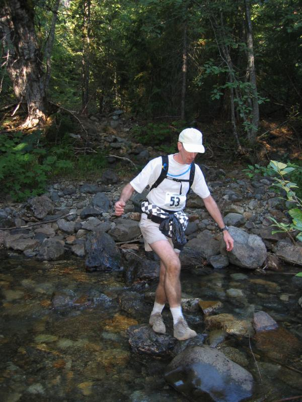 Bill Sublett<br>The only guy I saw crossing the rocks</br>
