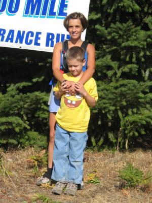 Ronda Sundermeier & son Alex