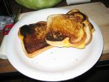 Famous toasted cheese sandwiches