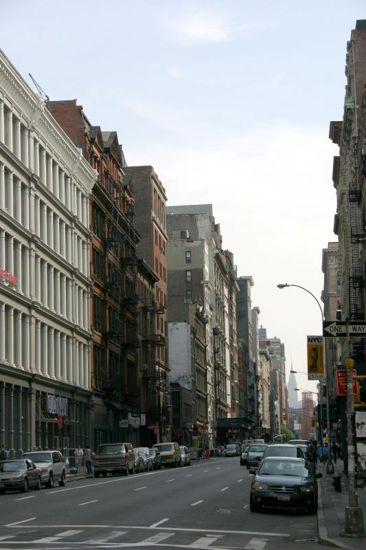 499 Broadway - Looking Uptown from Broome Street