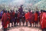 Masai village - jumping
