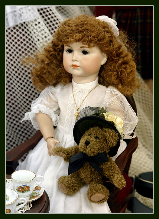 Prize Doll at the Bloomsburg State Fair.
