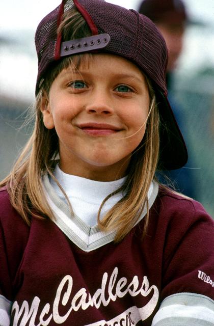 Young Baseball Star