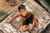 Young Boy Halong Bay