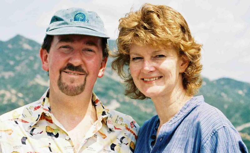 Stephen Carnell & Tina Brady @ China 2003