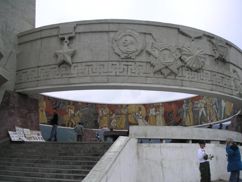 Zaisan Memorial (Russian built)