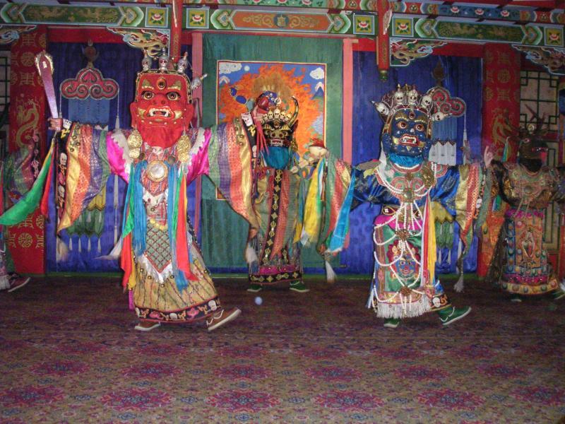 Tsam dance