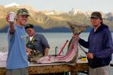 After good fishing trip (halibut) II