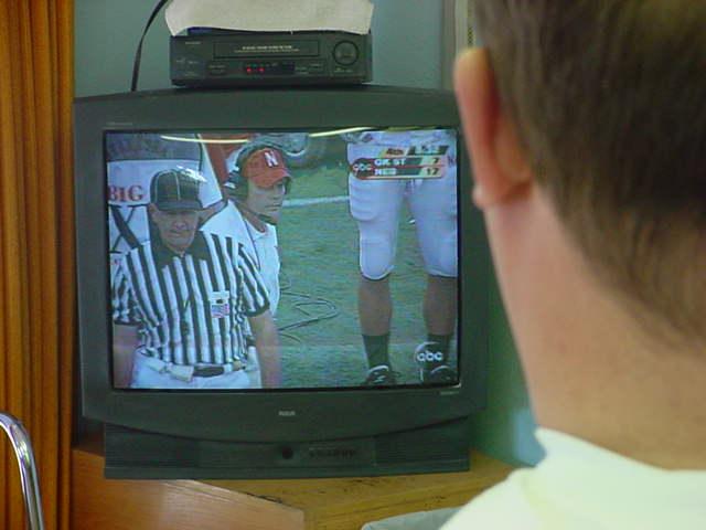 bill watching football