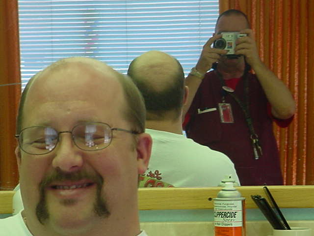 the last $10 haircut on me Jeff at Bills barber shop
