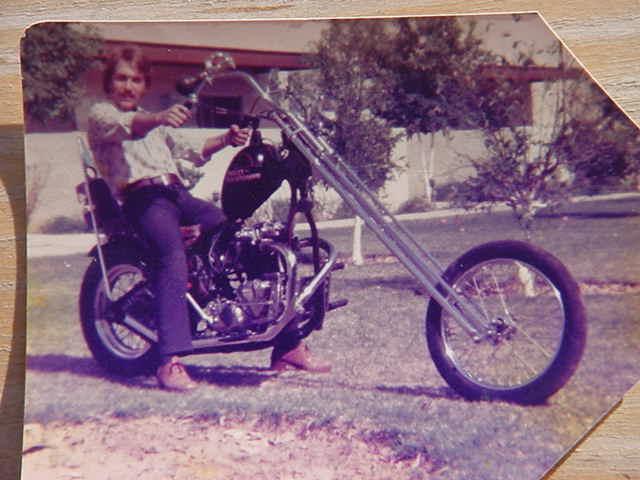 Triley Davidrumph<br> built in Tempe Arizona<br> by Kenny Howard