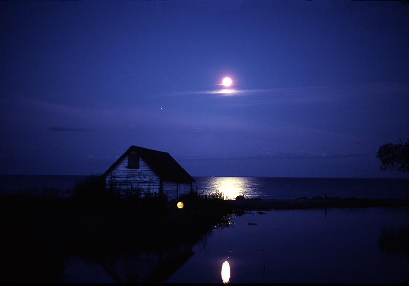 Lake Michigan Moon
