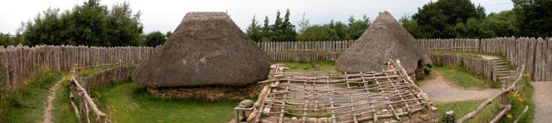 Rath (Ringfort) - Irish National Heritage Park (Co. Wexford, Ireland)