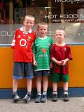 3 soccer fans (...the little one supports the Portuguese national team!) - Wexford (Co. Wexford)