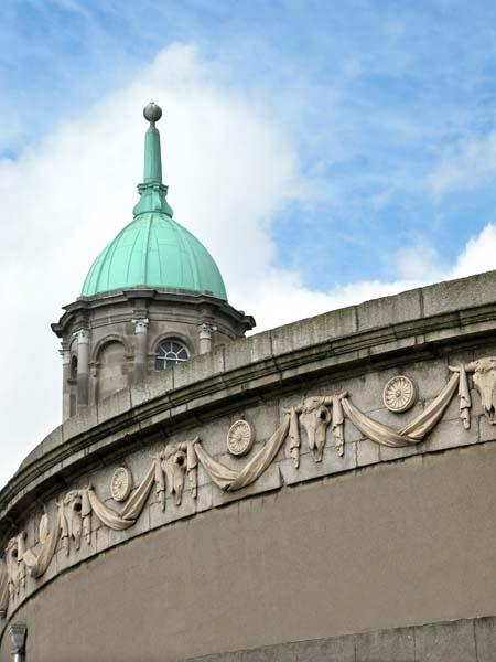 Rotunda Hospital tower and Gate Theater (Dublin)