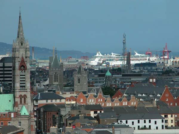 Dublin skyline - View from the Guinness Panorama Sky Bar (Dublin)