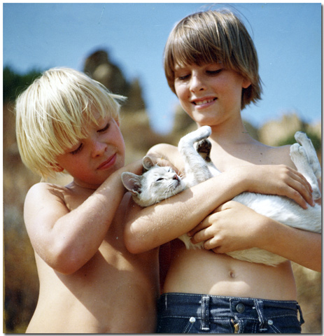 Tim, Mini-Kitty & Steve