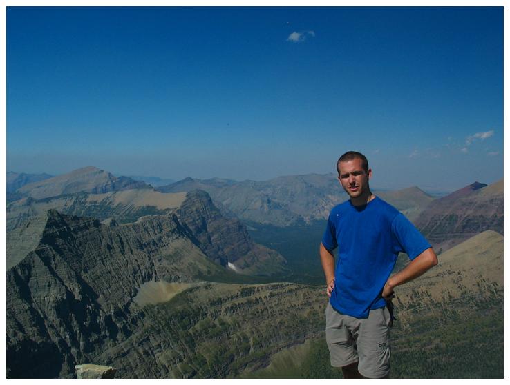 Me on the Summit of Flinsch Peak