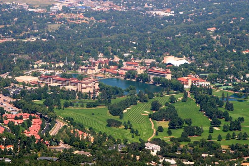 The Broadmoor in Colorado Springs