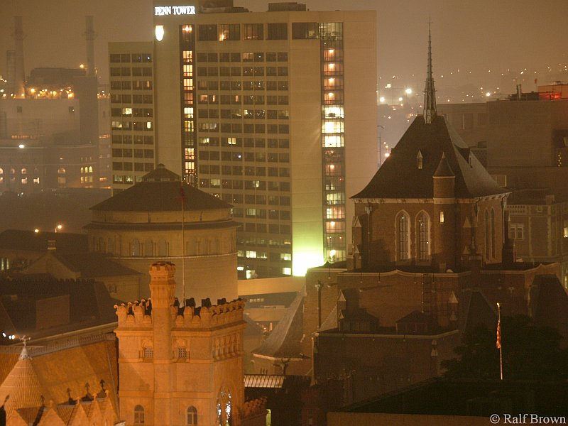 View of UPenn Campus - Night